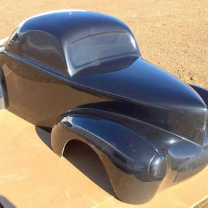 1941 Willys Tot Rod Fiberglass Body