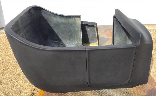 T-Bucket fiberglass body opening door