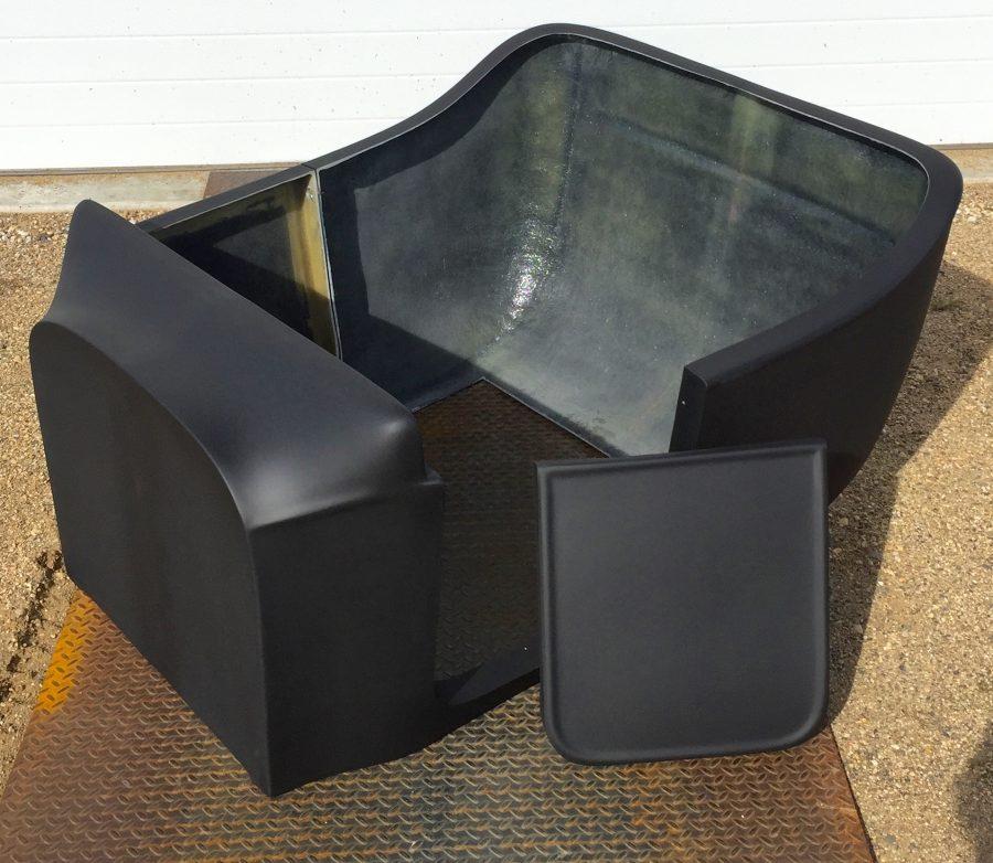T-Bucket fiberglass door opening