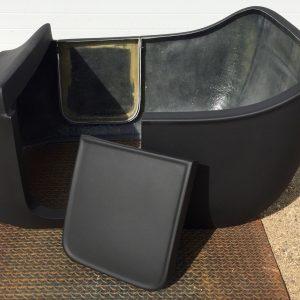 fiberglass T-Bucket body opening door