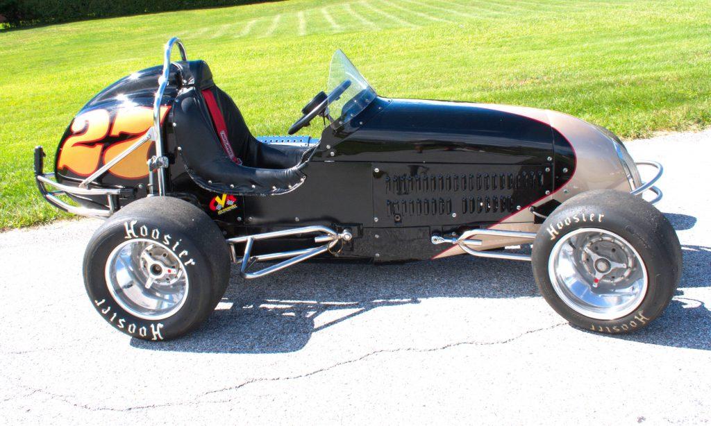 Vintage Quarter Midget Racer Fiberglass Body